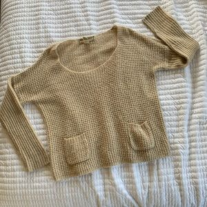 Sand Knitted Sweater